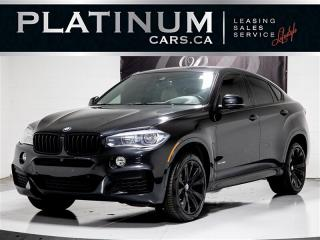 Used 2016 BMW X6 Xdrive 35i, NAV, PREMIUM, M PKG, Full MERINO, Pano for sale in Toronto, ON
