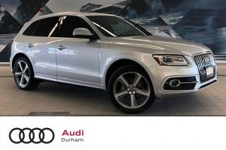 Used 2014 Audi Q5 2.0 Technik + Fully Loaded | S-Line | Blind Spot for sale in Whitby, ON