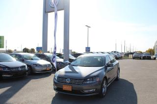Used 2015 Volkswagen Passat 1.8 TSI Highline for sale in Whitby, ON