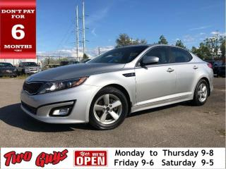 Used 2015 Kia Optima LX | New Tires| Pwr Seat| Bluetooth for sale in St Catharines, ON