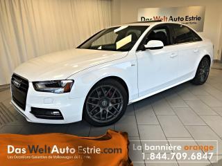 Used 2015 Audi A4 2.0T Progressiv, Cuir, Toit, Manuel for sale in Sherbrooke, QC