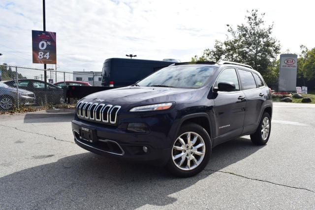 2014 Jeep Cherokee Limited 4X4/LEATHER/ROOF/NAVI