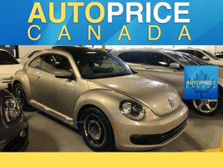 Used 2016 Volkswagen Beetle 1.8 TSI Classic PANOROOF|NAVIGATION for sale in Mississauga, ON