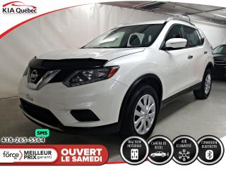 Used 2015 Nissan Rogue S* AWD* CAMERA DE RECUL* A/C* BLUETOOTH* for sale in Québec, QC