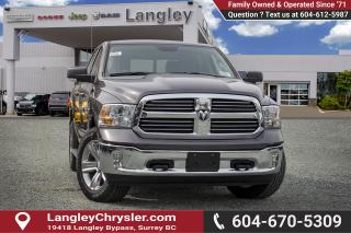 Used 2019 RAM 1500 Classic SLT - Diesel Engine for sale in Surrey, BC