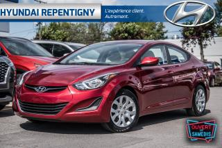Used 2015 Hyundai Elantra GL 4 PORTES**A/C, DÉMARREUR À DISTANCE** for sale in Repentigny, QC