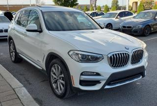Used 2018 BMW X3 xDrive30i PREMIUM PKG ESSENTIAL! for sale in Dorval, QC