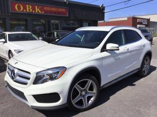 Used 2016 Mercedes-Benz GLA AMG PKG-4MATIC-BLUETOOTH-SIEGES CHAUFFANT for sale in Laval, QC