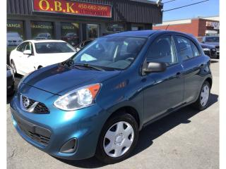 Used 2015 Nissan Micra AIR CLIMATISE-AUTOMATIQUE-REGULATEUR VITESSE for sale in Laval, QC