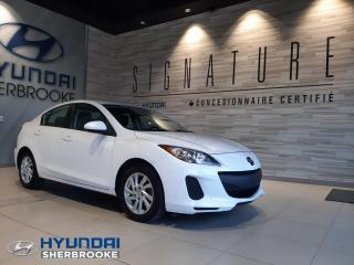 Used 2013 Mazda MAZDA3 GX+AUTO+A/C+GROUPE ÉLECTRIQUE+CD/USB/AUX for sale in Sherbrooke, QC