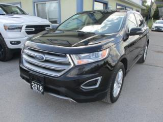 Used 2016 Ford Edge ALL-WHEEL DRIVE SEL MODEL 5 PASSENGER 3.5L - V6.. NAVIGATION.. LEATHER.. HEATED SEATS.. PANORAMIC SUNROOF.. BACK-UP CAMERA.. BLUETOOTH SYSTEM.. for sale in Bradford, ON