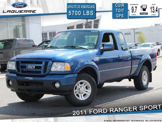 Used 2011 Ford Ranger SPORT**2WD** for sale in Victoriaville, QC