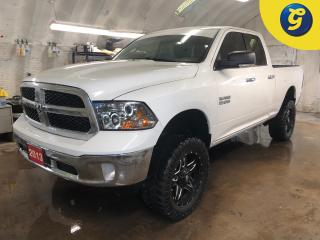 Used 2013 RAM 1500 SLT * 4X4 * Quad cab * 4 Inch lift kit * 3.6-Liter V6  * NAV-Ready! FUEL 20 Inch gloss black alloy rims * Mickey Thompson MTZ tires * 3.55 Rear Axle R for sale in Cambridge, ON
