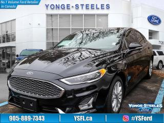 Used 2019 Ford Fusion Energi Titanium for sale in Thornhill, ON