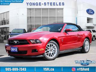 Used 2012 Ford Mustang V6 Premium for sale in Thornhill, ON
