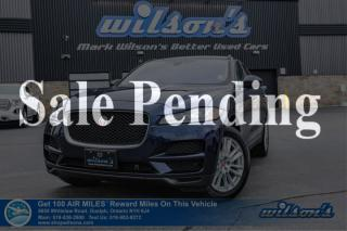 Used 2017 Jaguar F-PACE 20d Prestige Diesel AWD - New Tires! Navigation, Leather, Sunroof, Power Liftgate, and more! for sale in Guelph, ON