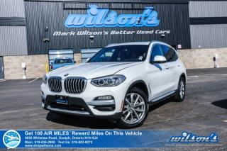 Used 2019 BMW X3 xDrive30i Used AWD - Navigation, Panoramic Sunroof, Heated Seats, Bluetooth, Rear Camera and more! for sale in Guelph, ON