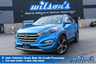 Used 2016 Hyundai Tucson Limited AWD - Leather, Sunroof, Navigation, Heated Seats+Steering, Rear Camera and more! for sale in Guelph, ON