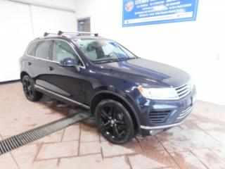 Used 2017 Volkswagen Touareg Wolfsburg Edition LEATHER NAVI SUNROOF for sale in Listowel, ON