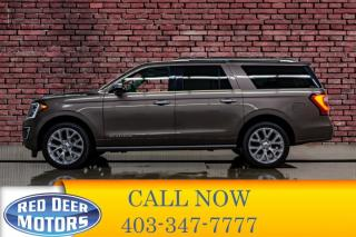 Used 2018 Ford Expedition Platinum Max 4x4 Leather Roof Nav for sale in Red Deer, AB