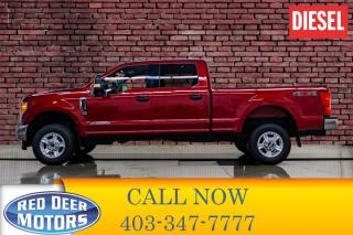 Used 2017 Ford F-350 4x4 Crew Cab XLT Diesel BCam for sale in Red Deer, AB