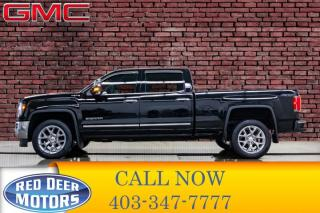 Used 2018 GMC Sierra 1500 4x4 Crew Cab SLT LWB Leather Roof Nav for sale in Red Deer, AB