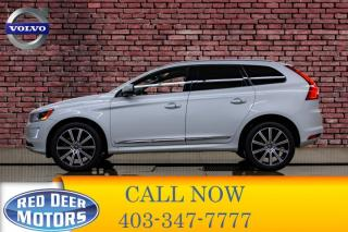 Used 2017 Volvo XC60 AWD T6 Drive-E Premier Leather Roof Nav for sale in Red Deer, AB