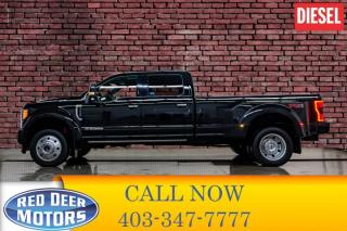 Used 2017 Ford F-450 4x4 Crew Cab Platinum Dually for sale in Red Deer, AB
