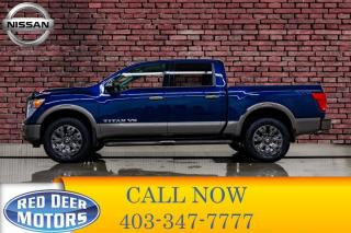 Used 2018 Nissan Titan 4x4 Crew Cab Platinum for sale in Red Deer, AB