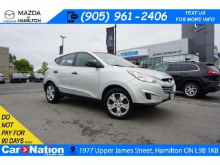 Used 2012 Hyundai Tucson GL | HEATED SEATS | BLUETOOTH | AUX INPUT for sale in Hamilton, ON
