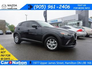 Used 2016 Mazda CX-3 GS | LEATHERETTE | SUNROOF | REAR CAM for sale in Hamilton, ON