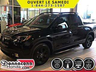Used 2019 Honda Ridgeline Black Edition AWD *SPECIALE DEMO* for sale in Donnacona, QC