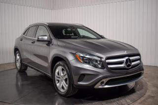 Used 2016 Mercedes-Benz GLA 250 4MATIC CUIR for sale in St-Hubert, QC