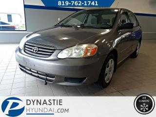 Used 2004 Toyota Corolla CE for sale in Rouyn-Noranda, QC