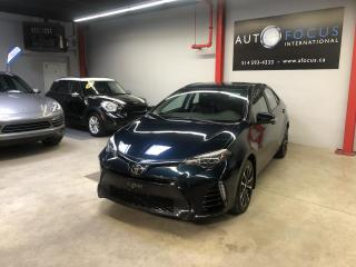 Used 2017 Toyota Corolla XSE AUTO., GPS, CAMÉRA, CUIR, TOIT for sale in Montréal, QC