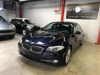 Used 2012 BMW 5 Series 528I, XDRIVE, NAVI, TOIT, CAMERA for sale in Montréal, QC