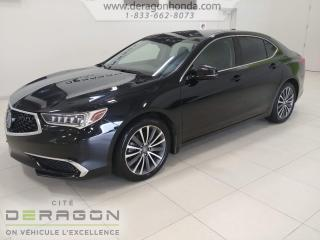 Used 2018 Acura TLX TECH+ CUIR+ AIR CLIMATISE+ SIEGES CHAUFFANTS TECH+ CUIR+ AIR CLIMATISE+ SIEGES CHAUFFANTS for sale in Cowansville, QC