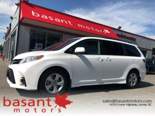 Used 2019 Toyota Sienna LE, 8 Passenger, Toyota Safety Sense!! for sale in Surrey, BC