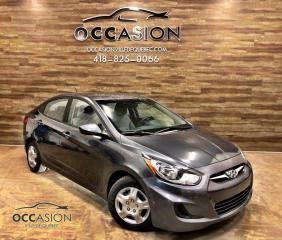 Used 2013 Hyundai Accent Berline 4 portes, boîte automatique, GL for sale in Ste-Brigitte-de-Laval, QC