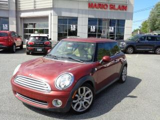 Used 2009 MINI Cooper Base * CUIR *ANTIBROUILLARDS * BLUETOOTH * for sale in Mcmasterville, QC