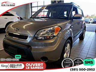 Used 2011 Kia Soul *2U* SIÈGES CHAUFFANTS* AIR* BLUETOOTH* for sale in Québec, QC