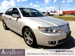 Used 2007 Lincoln MKZ 3.5L - AWD - NAVI for sale in Woodbridge, ON