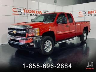 Used 2012 Chevrolet Silverado 3500 3500HD + KING CAB + AWD + BLUETOOTH + WO for sale in St-Basile-le-Grand, QC