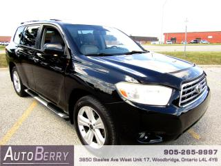 Used 2009 Toyota Highlander Limited - AWD - 7 Passenger for sale in Woodbridge, ON