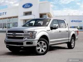 New 2019 Ford F-150 PLATINUM for sale in Winnipeg, MB