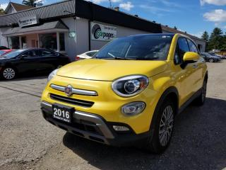Used 2016 Fiat 500 X Lounge Awd for sale in Bloomingdale, ON
