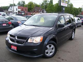 Used 2012 Dodge Grand Caravan SE,BLUETOOTH,BACKUP CAMERA,ALLOYS,TINTED,CERTIFIED for sale in Kitchener, ON