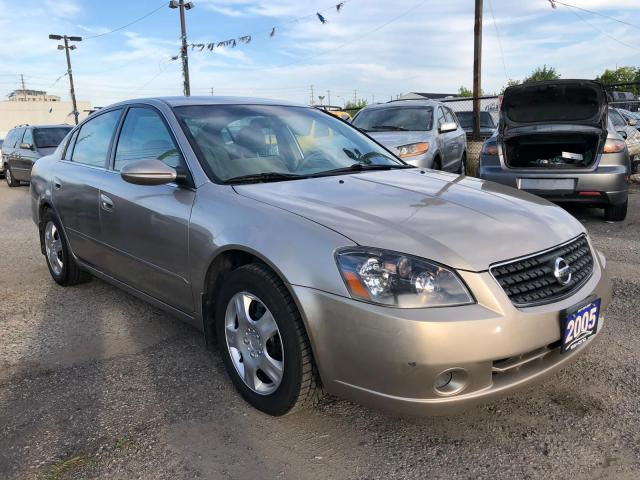 2005 Nissan Altima 2.5 S, LOW KMS, 3 YR WARRANTY, CERTIFIED