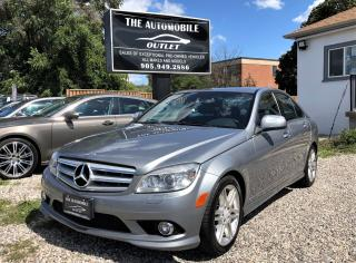 Used 2009 Mercedes-Benz C 300 3.0L 4MATIC AWD ONE OWNER NAVI NO ACCIDENT for sale in Mississauga, ON