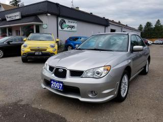 Used 2007 Subaru Impreza 2.5i for sale in Bloomingdale, ON